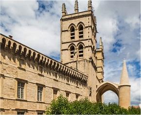 Bâtiment historique de médecine - Montpellier